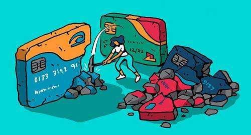推销信用卡