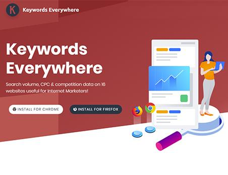 Keywords everywhere SEO工具的安装与功能简介-1